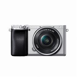 デジタル一眼カメラ α6400 パワーズームレンズキット シルバー ソニー ILCE-6400L/S