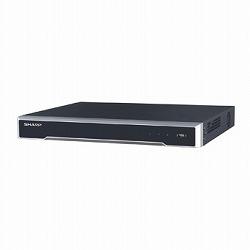 H.265+/H.265対応16chネットワーク・ビデオ・レコーダー(12メガピクセル録画対応) シャープ YC-R162C