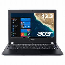 TMX3310M-F58UBB6 (Core i5-8250U/8GB/256GB SSD+500GB HDD/ドライブなし/13.3型/HD/指紋認証/Windows 10 Pro 64bit/LAN/HDMI/1年保証/Office Home&Business 2016) Acer TMX3310M-F58UBB6