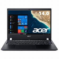 TMX3410M-F78UCL6 (Core i7-8550U/16GB/256GB SSD+500GB HDD/ドライブなし/14型/フルHD/指紋認証/Windows 10 Pro 64bit/LAN/HDMI/1年保証/Office Personal 2016) Acer TMX3410M-F78UCL6