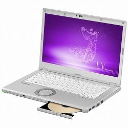 Let`s note LV7 店頭(Core i5-8250U/SSD256GB/SMD/W10Pro64/14FullHD/シルバー/OFHB2019) パナソニック CF-LV7CDGQR