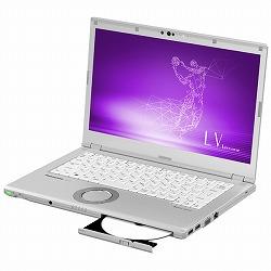 Let`s note LV7 店頭(Core i7-8550U/SSD512GB/BD/W10Pro64/14FullHD/シルバー/OFHB2019) パナソニック CF-LV7DDVQR