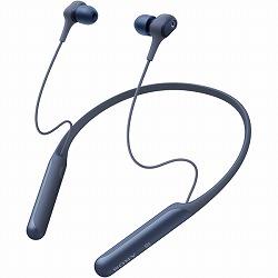 ワイヤレスノイズキャンセリングステレオヘッドセット ブルー ソニー WI-C600N/L