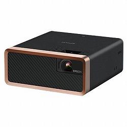 ホームプロジェクター/2000lm/WXGA/レーザー光源/オールインワン/ブラック/Android TV端末同梱モデル セイコーエプソン EF-100BATV