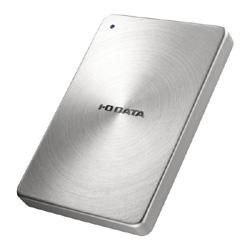 【送料無料】アイ・オー・データ機器 アイオーデータ IODATA HDPX-UTA2.0S USB 3.0 / 2.0 ポータブルハードディスク アルミボディ HDD 2TB シルバー