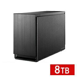 【送料無料】アイ・オー・データ機器 アイオーデータ IODATA HDS2-UTX8.0 USB 3.0/eSATA対応 2ドライブ 外付ハードディスク RAID HDD 8TB