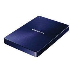 【送料無料】アイ・オー・データ機器 アイオーデータ IODATA HDPX-UTA1.0B USB 3.0 / 2.0 ポータブルハードディスク アルミボディ HDD 1TB ブルー