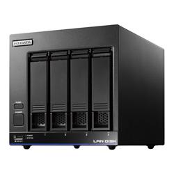 【送料無料】アイ・オー・データ機器 アイオーデータ IODATA HDL4-X16 Braswell Celeron N3010搭載 4ドライブ 法人向け NAS ナス ネットワークHDD WD Red 16TB