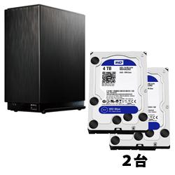 WesternDigitalWD40EZRZ-RT2 【送料無料】 (ハードディスク/3.5インチ/4TB/SATA)