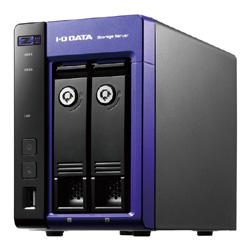 【送料無料】アイ・オー・データ機器 アイオーデータ IODATA HDL-Z2WQ2D WSS2016WG搭載 Intel Celeron搭載 2ドライブ 法人向け NAS ナス ネットワークHDD 2TB