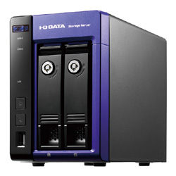 【送料無料】アイ・オー・データ機器 アイオーデータ IODATA HDL-Z2WQ8D WSS2016WG搭載 Intel Celeron搭載 2ドライブ 法人向け NAS ナス ネットワークHDD 8TB