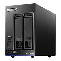 【送料無料】アイ・オー・データ機器 アイオーデータ IODATA HDL2-X8/TM5 Braswell Celeron N3010搭載 2ドライブ 法人向け NAS ナス ネットワークHDD WD Red 8TB Trend Micro NAS Security 期間5年