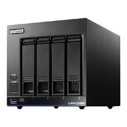 【送料無料】アイ・オー・データ機器 アイオーデータ IODATA HDL4-X8/ST5 Braswell Celeron N3010搭載 4ドライブ 法人向け NAS ナス ネットワークHDD WD Red 8TB デリバリィ保守 5年