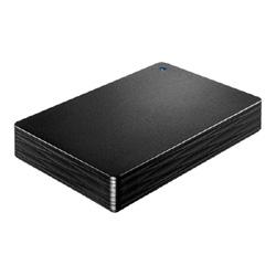 IO DATA HDPH-UT4DKR USB対応ポータブルHDD黒 4TB