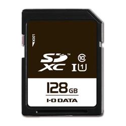 IO DATA SDU1-128GR UHSスピードクラス1 SDカード