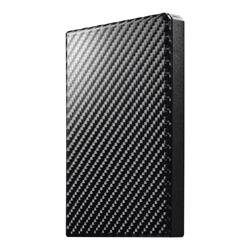 IO DATA HDPT-UTS2K ポータブルハードディスク 黒 2TB