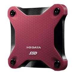 IO DATA SSPH-UT500R ポータブルSSD 500GB 赤