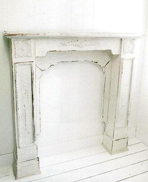 送料無料 ホワイトマントルピース IX-70ナチュラル アンティーク インテリア 家具 小物収納 飾り棚 おしゃれ