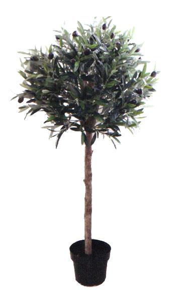 送料無料 フェイクグリーン(人工植物)オリーブ トピアリー仕立て110cm  フェイクグリーン   おしゃれ 人気 引越し祝い 開店祝い 新築祝い 結婚祝い お祝い フェイクグリーン通販 イミテーショングリーン