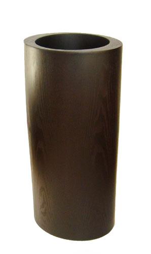『送料無料』MDFウッド(木製)ラウンド鉢カバーXI-05直径28~34×高さ70cm  7号鉢まで対応 観葉植物 モダン ナチュラル インテリアグリーン   おしゃれ 人気 引越し祝い 開店祝い 新築祝い 結婚祝い お祝い 観葉植物通販