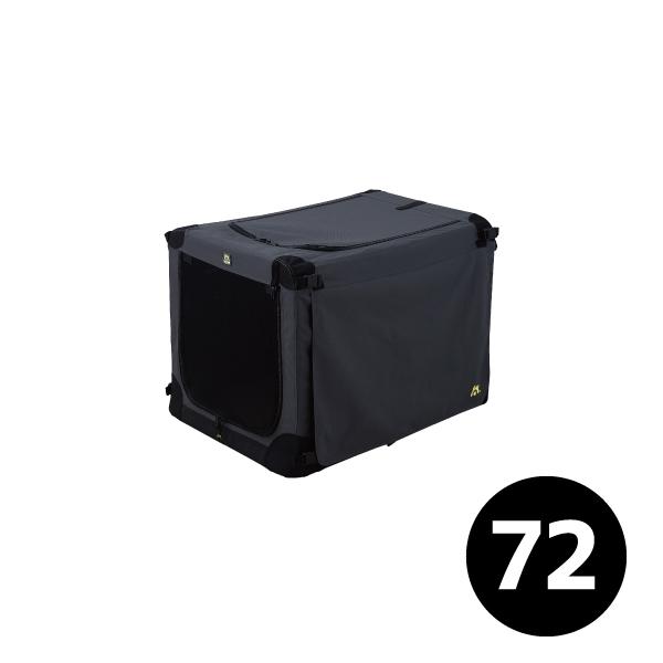 【新品未使用アウトレットセール!!】 ソフトケンネル ブラック 72 ※外箱つぶれ等※