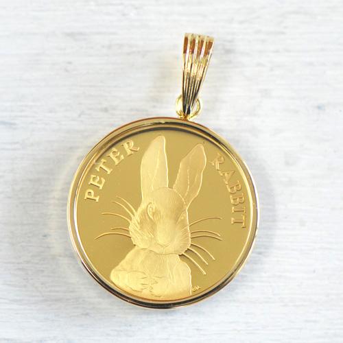 ピーターラビット コイン YK-O045-1609ペントップ レディース ギフト ゴールド 記念 限定品
