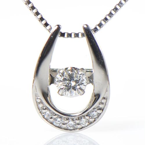 驚きの値段 WEB限定 チェーン別売り ダンシング ダイヤモンド ペンダント トップ プラチナ900BX015-CF