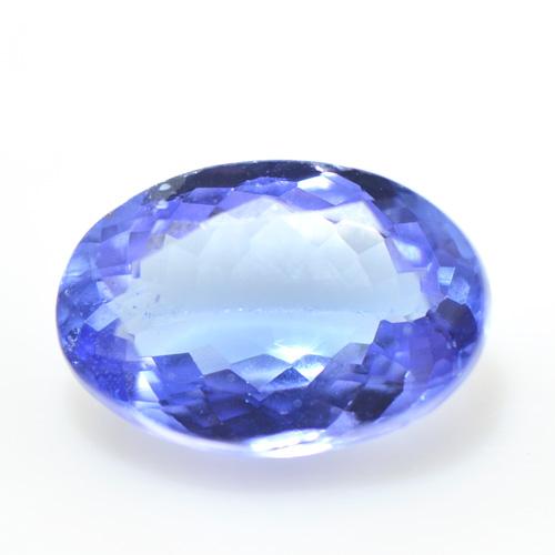 タンザナイト オーバル カット 大粒 ルース 天然石 12月誕生 S-D0422018YKAM