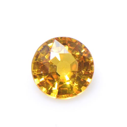 オレンジ サファイア カット 大粒 ルース 上質 天然石 S-F051CI28 カラーサファイア 9月誕生石