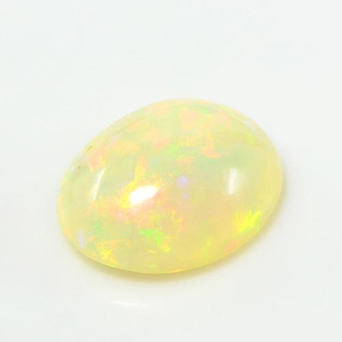 エチオピアン オパール オーバル カボション カット 大粒 ルース 天然石 10月誕生 S-E079
