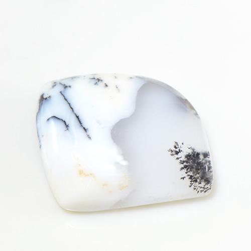 デンドライト オパール カボション カット 大粒 ルース 天然石  S-E089