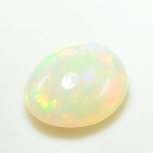 エチオピア オパール オーバル カボション カット 大粒 ルース 天然石 10月誕生 S-F005CI28