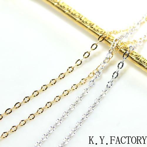 ポラリスカット チェーン ネックレス フルアジャスター45cm YK-BD018CI K18イエローゴールド/ホワイトゴールド/ピンクゴールド
