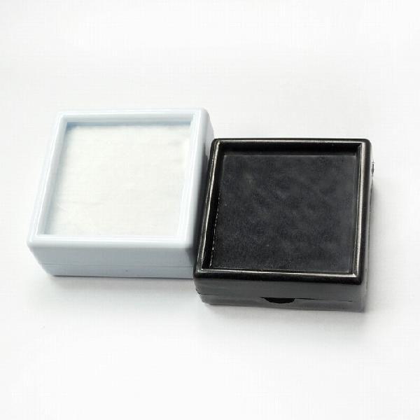 大切なルースをしっかりと守ります!【即納】【ホワイトカラー】【ブラックカラー】 ルースケース プラスティック ボックス 白 黒 20個セット