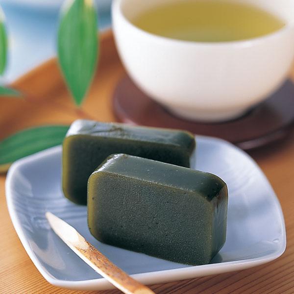 「緑茶 羊羹」の画像検索結果