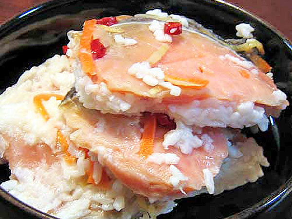 【10月下旬~3月中旬】選べる飯寿司(いずし)400g×3個セット