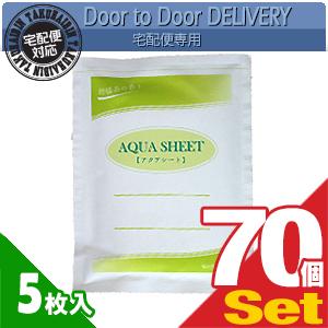 【当日出荷】【貼付け型冷却材】【カナケン】アクアシート(AQUA SHEET)(5枚入) x 70個セット