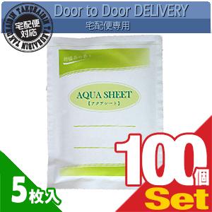 【当日出荷】【貼付け型冷却材】【カナケン】アクアシート(AQUA SHEET)(5枚入) x 100個セット【smtb-s】