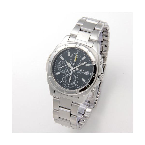 SEIKO(セイコー) 腕時計 クロノグラフ SND411 グリーン 送料無料!