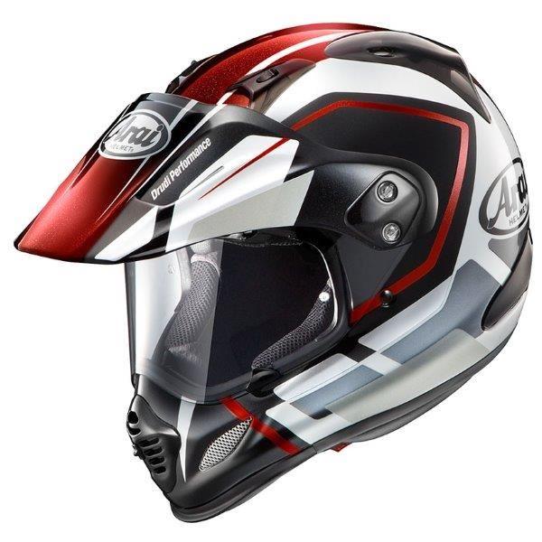 アライ(ARAI) オフロードヘルメット TOUR CROSS3 DETOUR レッド M 57-58cm 送料込!