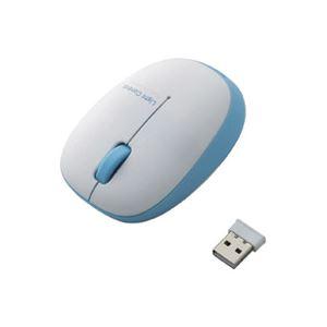 (業務用5セット)エレコム ELECOM ワイヤレスBlueLEDマウス M-BL20DBBU 送料無料!