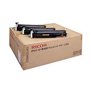 【純正品】 リコー(RICOH) トナーカートリッジ 感光体ユニット カラー 型番:C820 印字枚数:40000枚 単位:1個 送料無料!