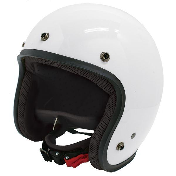 ダムトラックス(DAMMTRAX) ジェットヘルメット ジェット-D パールホワイト メンズ (57cm~60cm未満) 送料込!