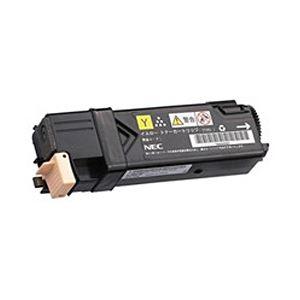 【純正品】 NEC トナーカートリッジ 大容量イエロー 型番:PR-L5700C-16 印字枚数:2000枚 単位:1個 送料無料!