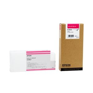 エプソン(EPSON) インクカートリッジ ビビッドマゼンタ 350ml (PX-H10000/H8000用) ICVM57 送料無料!