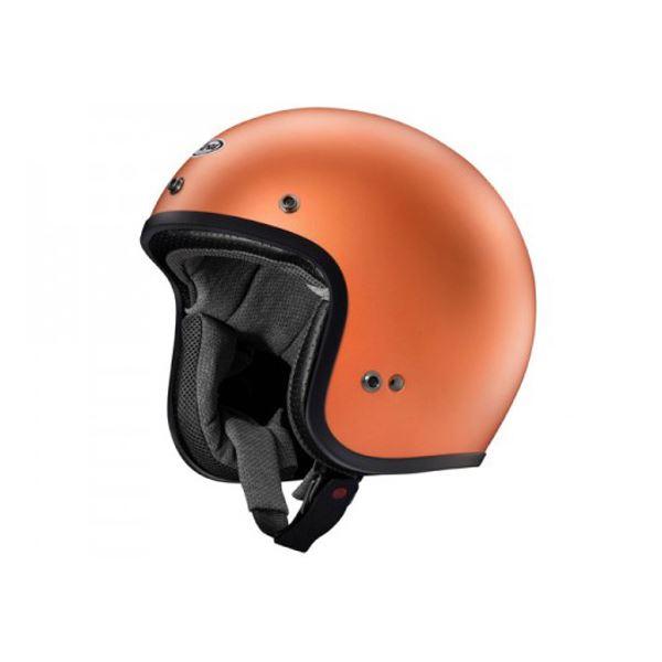 バイク用品 > ヘルメット > ジェットヘルメット アライ(ARAI) ジェットヘルメット CLASSIC MOD ダスクオレンジ 57-58cm M 送料無料!
