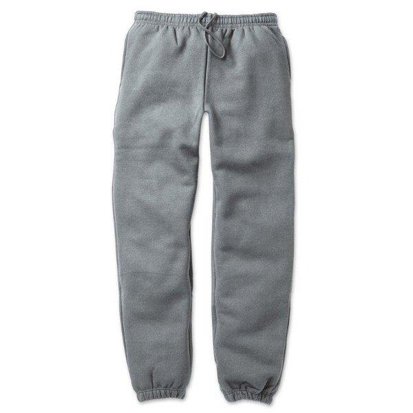 12.4ozヘビーウェイト裏起毛パンツ 7211 割り引き ヘザーグレー 送料込 日本 XXXLサイズ