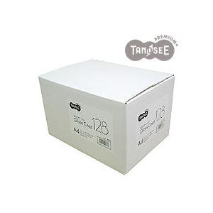(まとめ)TANOSEE αエコグロスコート128g A4 500枚入×3冊/箱 送料無料!