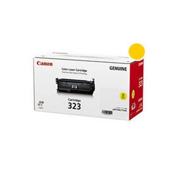 CANON インクカートリッジ トナー 純正品 Canon サービス キャノン 323 イエロー Y お洒落 送料無料 トナーカートリッジ
