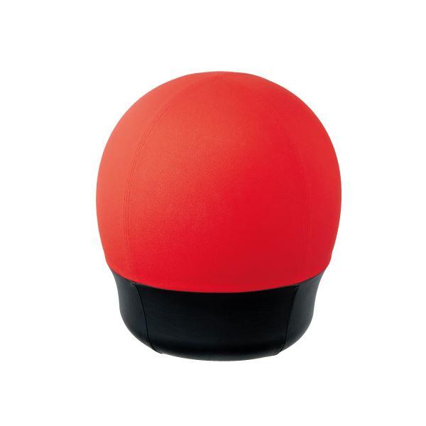 事務用品 オフィス用品 国産品 業務用 CMC スツール型バランスボール オフィスチェア タイヤタイプ レッド 赤 好評受付中 送料込 タイヤ RE BC-S